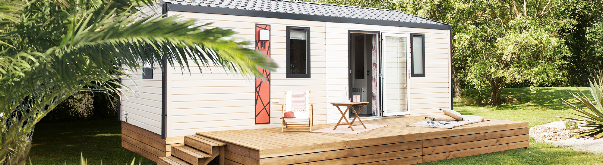 Mobil-homes 2 chambres IBIZAduo - mobil-home Rideau